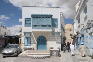 Straße in Kairouan.