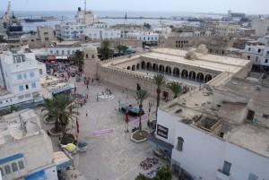 Die Große Moschee von Sousse.
