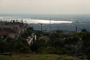 Blick von der Oberstadt.